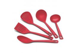 Набор кухонных принадлежностей красный Tramontina Utilita 25099/704 (5 предметов)