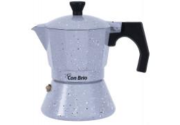 Гейзерная алюминиевая кофеварка на 3 чашки Con Brio CB-6703
