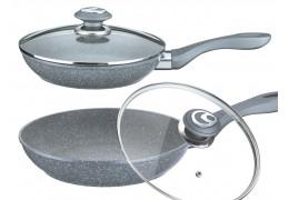 Сковорода из литого алюминия с гранитным покрытием Vissner VS-7530-24 (24 см)